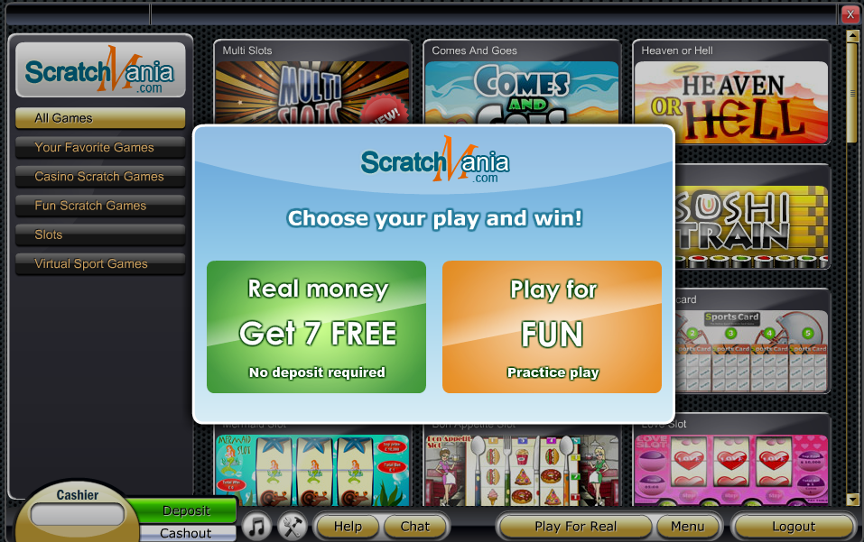 Play for real or fun